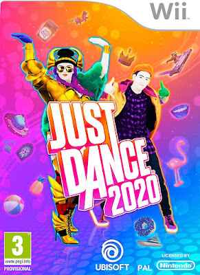 Just Dance 2020 Game Cover Nintendo Wii