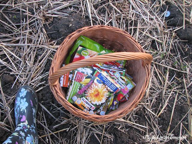 zakup nasion, kupno nasion, ogród przydomowy