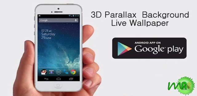 3D Parallax Background Android