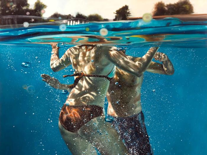 Eric Zener. Художник-самоучка. Вода и люди 25