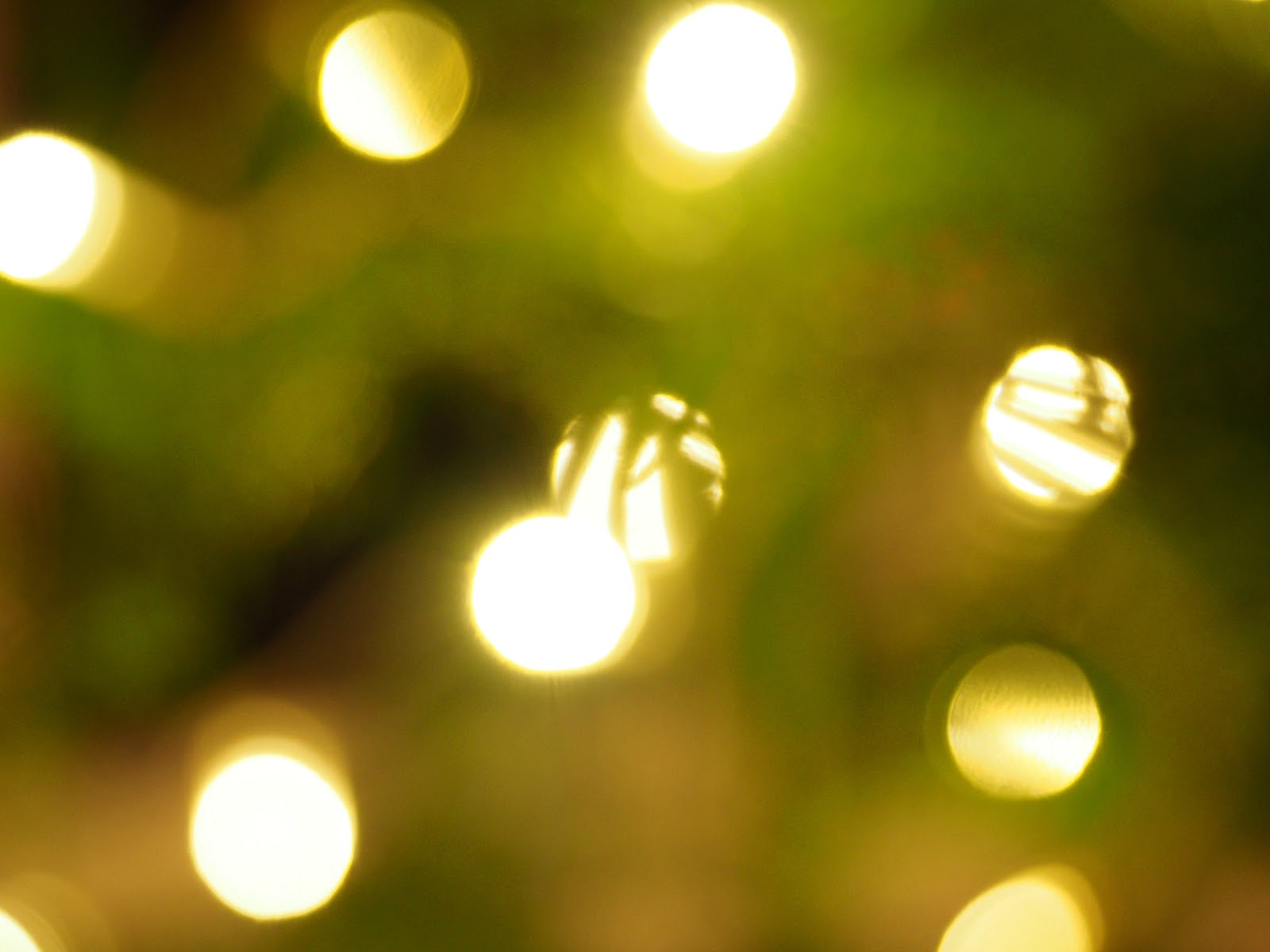 Huonekuusi, jouluvalot, tunnelma