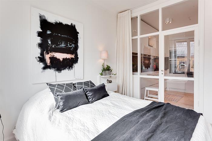 Hogar diez estilo n rdico en 45 m2 - Dormitorios estilo nordico ...