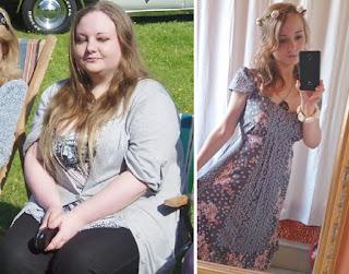 Мої фото до і після похудіння на пігулках
