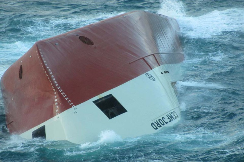 MV Cemfjord Sinking with Loss of 8 Lives Due to Poor Passage Planning - REPORT