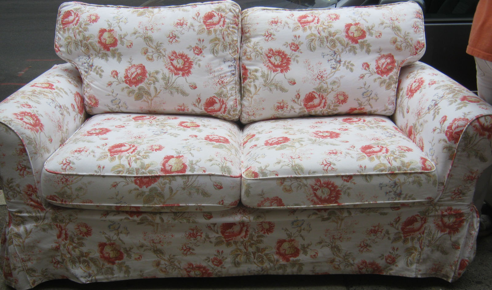 Uhuru Furniture Amp Collectibles Floral Sofa And Loveseat