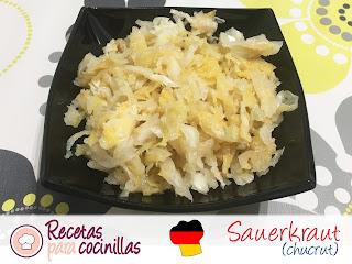 Chucrut casero o Sauerkraut