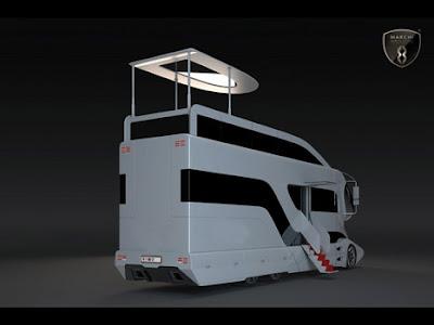 Marchi Mobile Futuristic Luxury Camper Van