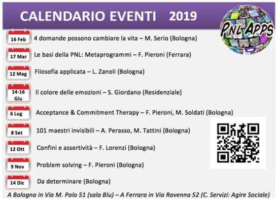 Calendario PNL Apps 2019