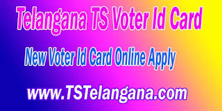 Telangana TS New Voter Id Card Online Apply