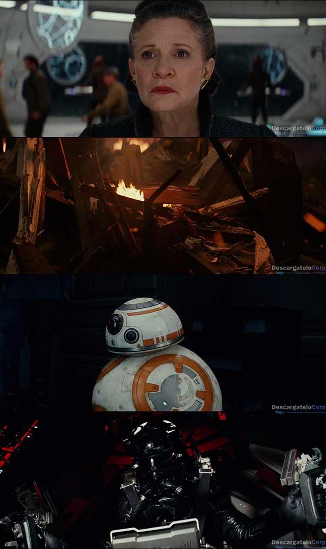 Star Wars Los Ultimos Jedi (2017) DVDRip Latino