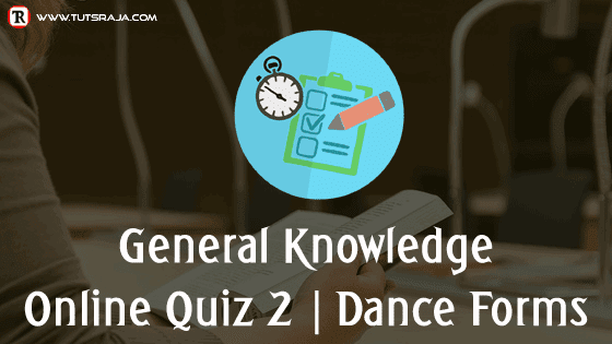Quiz 1 Dance forms