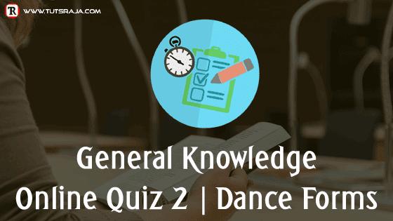 Quiz 1 Dance forms