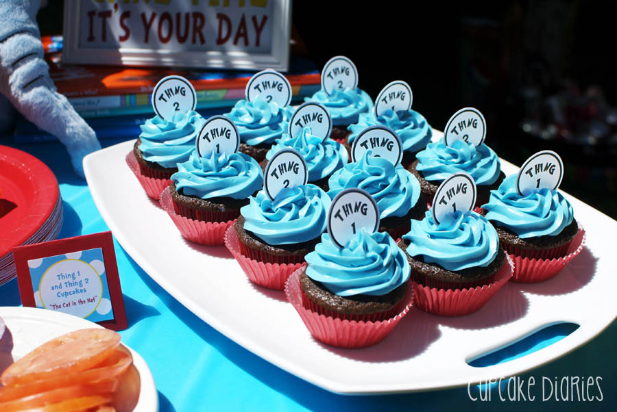 Dr. Seuss 1st Birthday Party - Cupcake Diaries