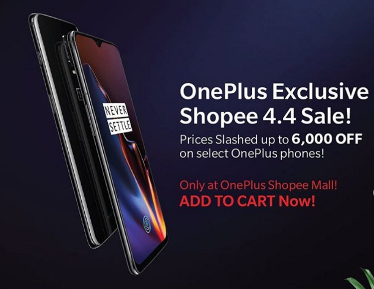 Score up to Php6,000 Discount on Select OnePlus Smartphones