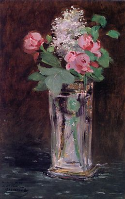 Manet Flowers Painting by Alana Meyers |Manet Flowers