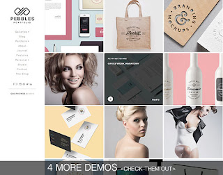 Pebbles Blogger Template