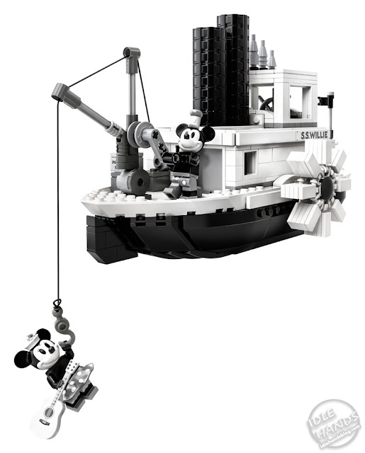 LEGO Steamboat Willie Set Reveal
