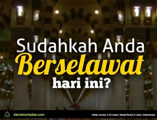 Hikmah Shalawat Nabi