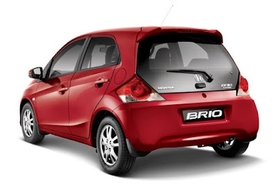 2016 Honda Brio Facelift rear Hd Picture