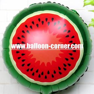 Balon Foil Potongan Buah Semangka