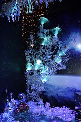 Illuminations de Noël des Galeries Lafayette