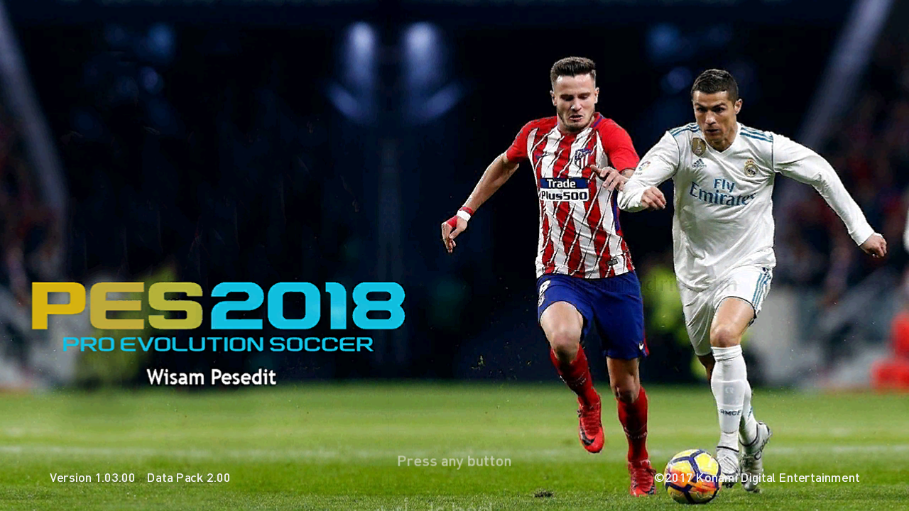 PES 2018 PS3 CFW Fantasy 18 Patch Fix Update v12 - RNB GAME