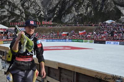 Tande najlepszy w serii próbnej w Oberstdorfie