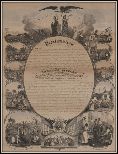 Find a FREE Emancipation Proclamation activity & info about task card biographies of important African-Americans | The ESL Connection