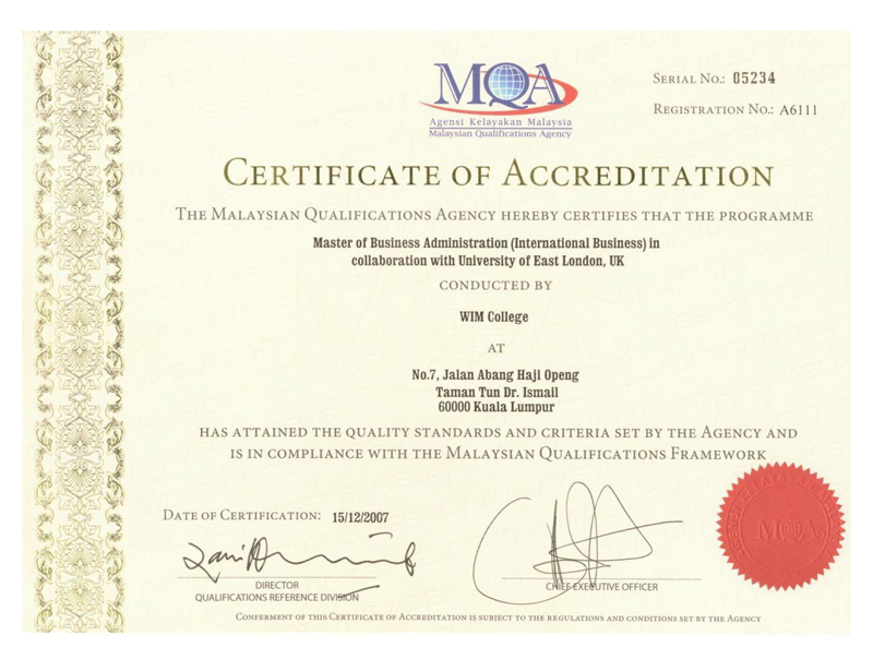 Professional Certification Business Business Administration