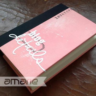 einfach amarie - Buchgebundenes Notizbuch