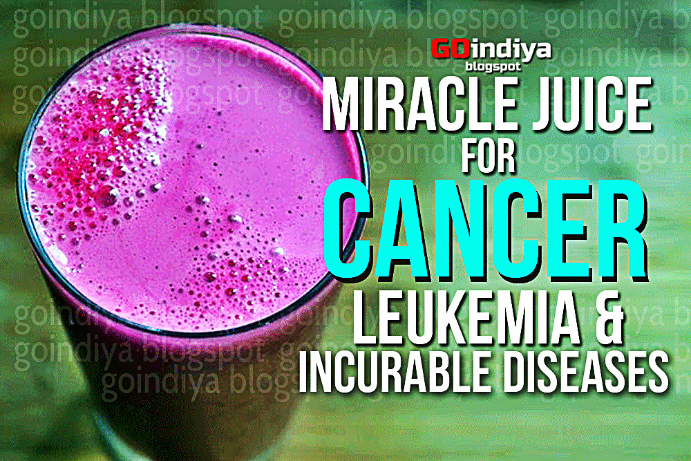 Cure Cancer, Leukemia and other Incurable Diseases with this Miracle