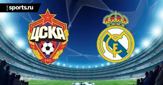 ЦСКА – Реал Мадрид прямая онлайн трансляция 02/10 в 22:00 МСК.