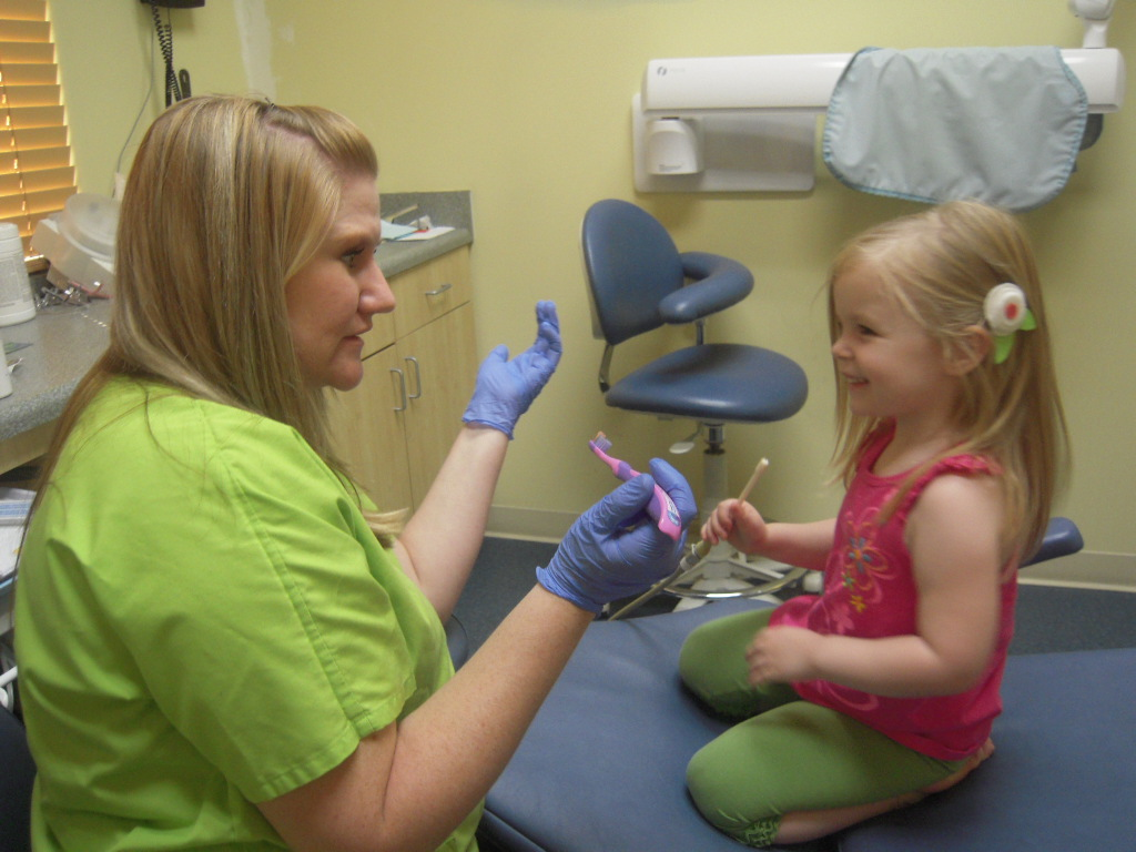 Life With The Roberts Cambry S 1st Trip To The Dentist