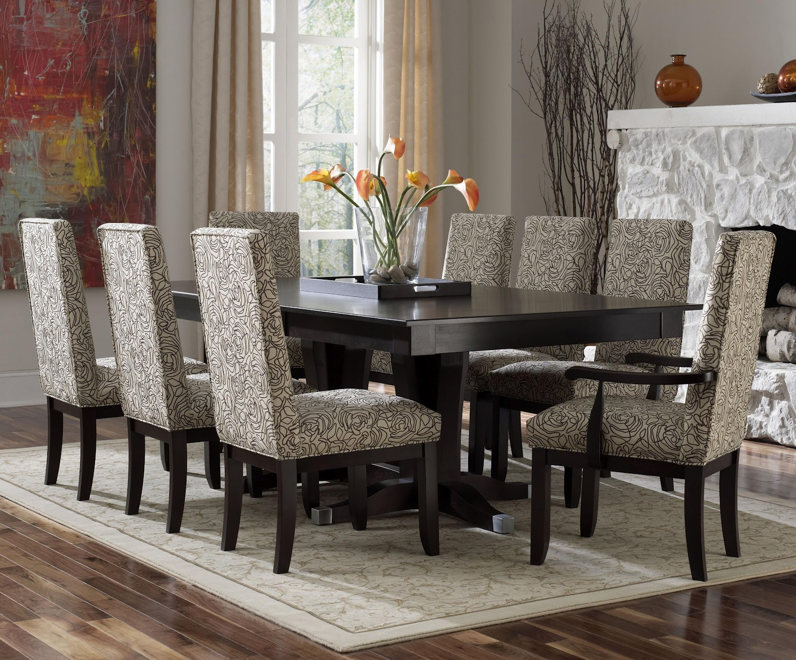 Canadel Furniture Long Island New York NY  DINING ROOMUNIQUE DINETTECANADEL NYBERMEX NY631