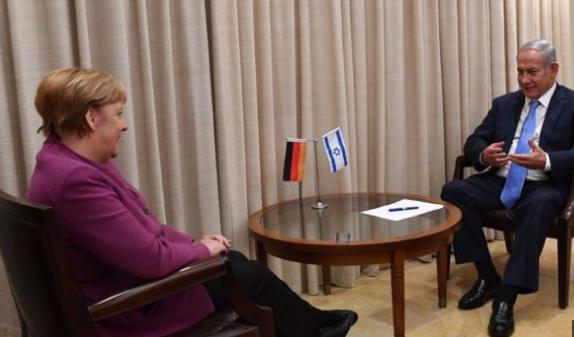 اجتماع ميركل و نتنياهو؛ يدعم الوفاق الأمريكي الإيراني.