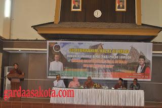 <b>Silaturahmi dan Halal Bihalal RKB Dihadiri Oleh Ketua Mahkamah Konstitusi</b>