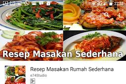 Resep Masakan dapat Dibawa kemana-mana
