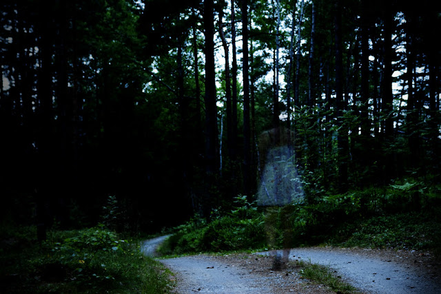 East 8 Mile road is said to be haunted by numerous evil spirits.