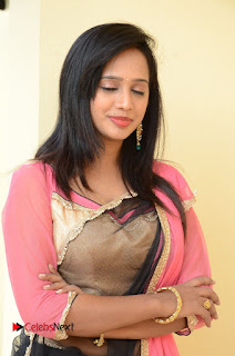 Actress Nakshatra Pictures at Thalimpu Multi Cuisine Restaurant Launch   0041.JPG