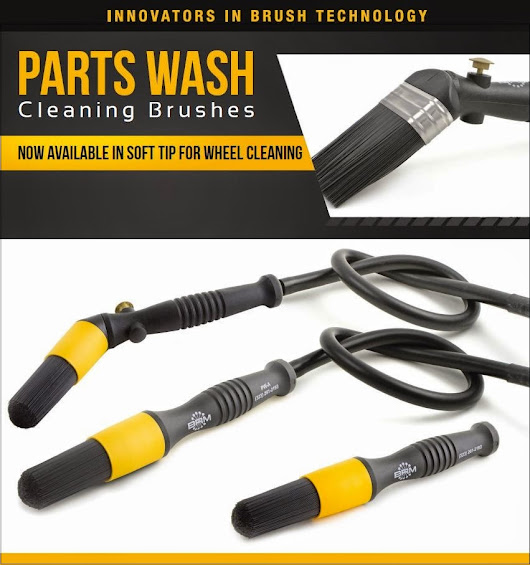 Parts Wash Cleaning Brushes