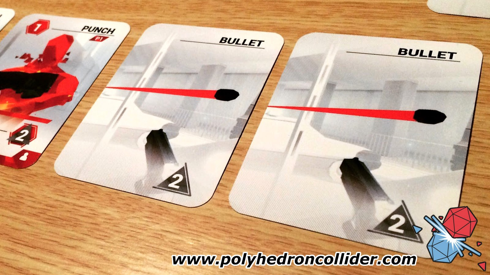 Superhot the card game bullet cards