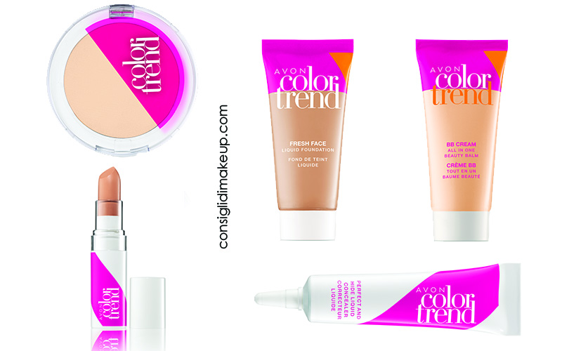 linea make up color trend avon