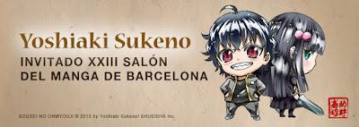 Como conseguir firma de Yoshiaki Sukeno en el Salón del Manga de Barcelona.