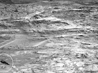 Objek Mirip Pesawat 'Star Wars' Tertangkap di Mars