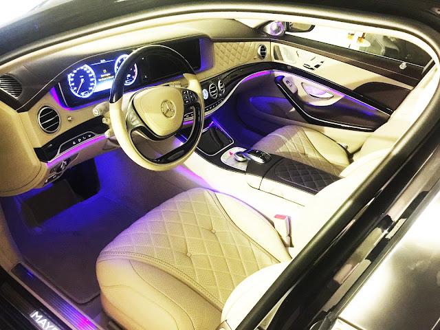 Toàn bộ nội thất Mercedes Maybach S600 làm từ những chất liệu cao cấp
