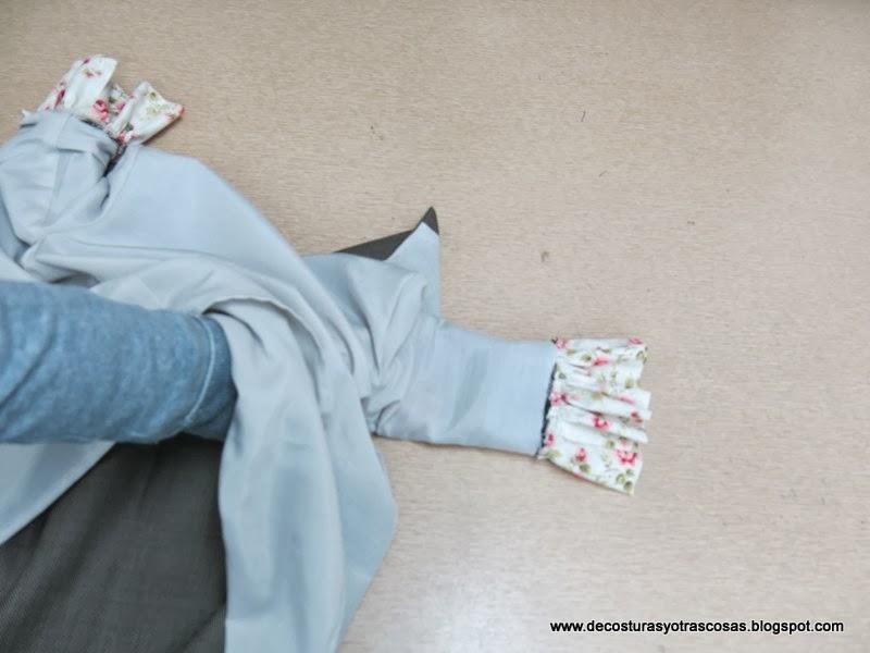 como-forrar-vestido-con-mangas