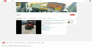 "Canal ""BETA"" de videos para Saga4x4Networks"