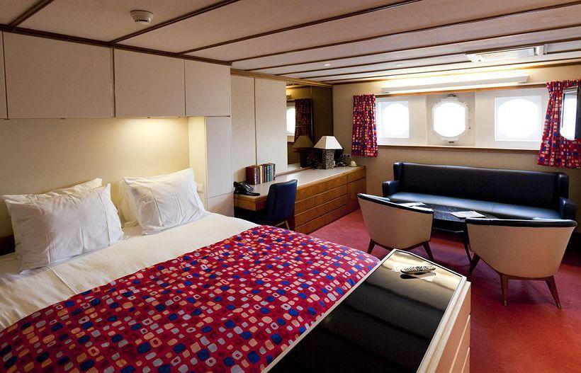 Habitaciones del SS Rotterdam, barco hotel y restaurant en Holanda