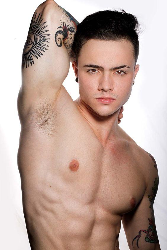 Fetish gay hair man pit