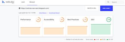 web.dev nueva herramienta de google para medir desempeño